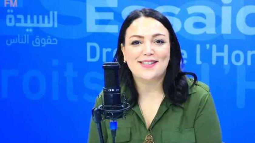 الصحفية التونسية نجوى الهمامي