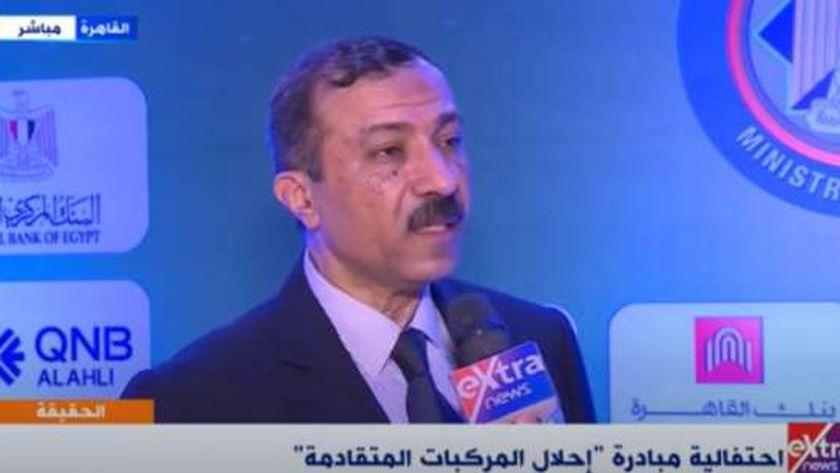 الدكتور طارق عوض المتحدث باسم المبادرة الرئاسية لإحلال السيارات بوزارة المالية