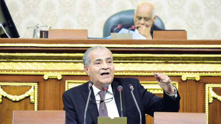 وزير التموين في البرلمان - أرشيفية