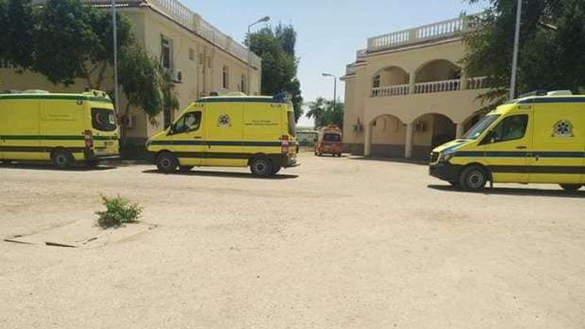 مستشفى حميات الأقصر