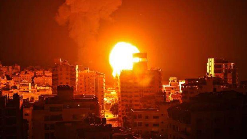 غارات الاحتلال الإسرائيلي على قطاع غزة - أرشيفية