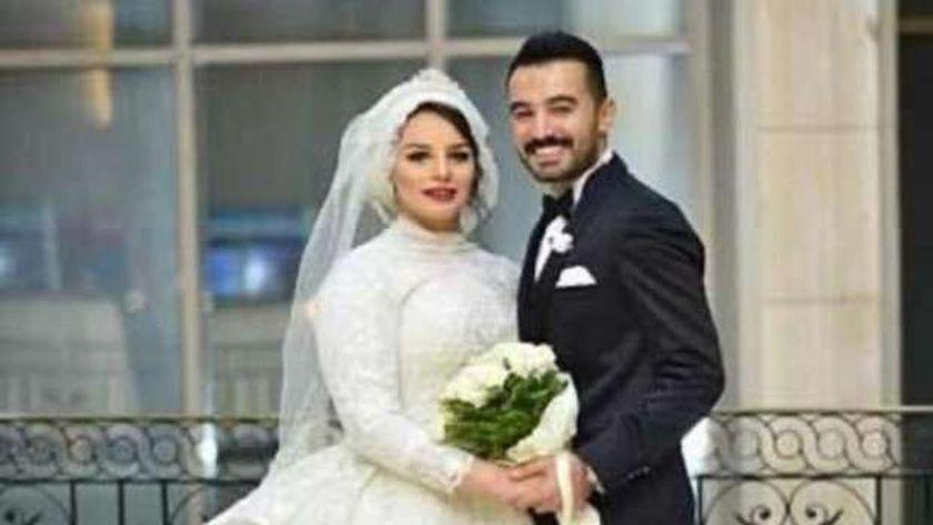 الدكتورة ياسمين حسن وزوجها