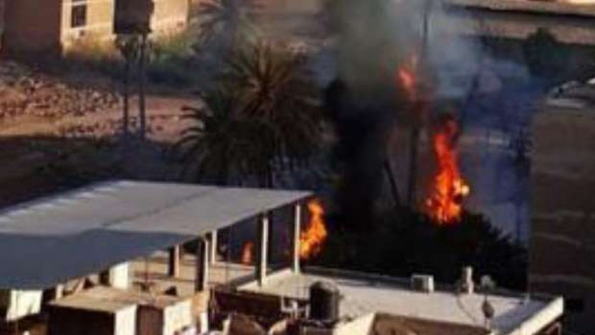 إخماد نيران حريق بمبنى شركة حليج الأقطان بالمحلة دون خسائر بالأرواح