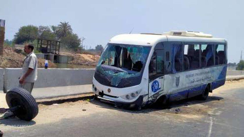 حادث أتوبيس القاهرة على طريق الدقهلية
