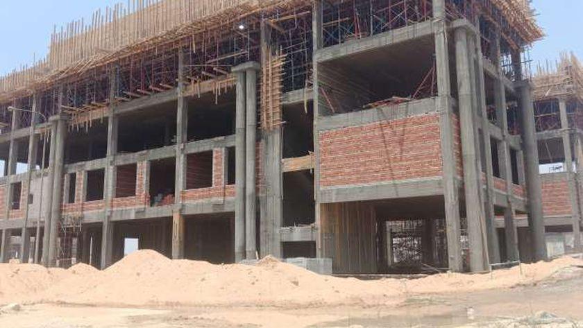 مباني جامعة بنها الاهلية بالعبور