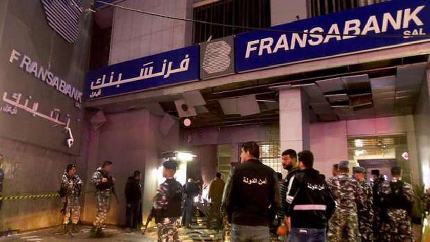 الاعتداءات على المصارف في لبنان
