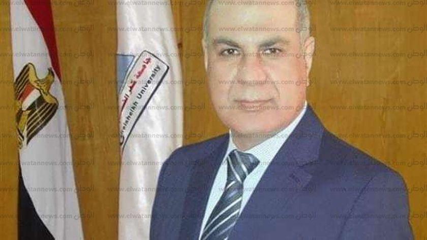 الدكتور ماجد القمرى، رئيس جامعة كفر الشيخ