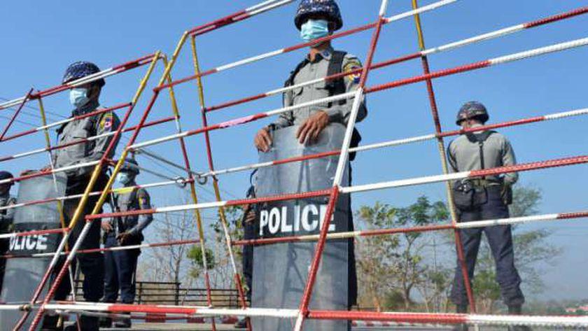 وقع الانقلاب في ميانمار فجر اليوم