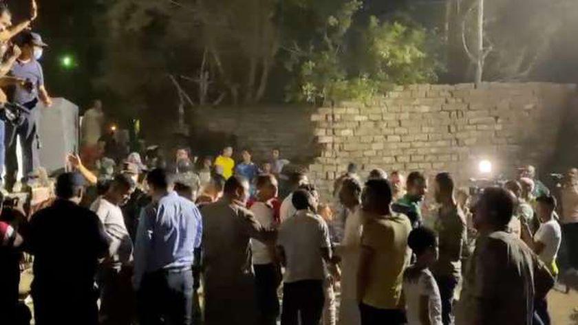 حادث قطار حلوان أمسس