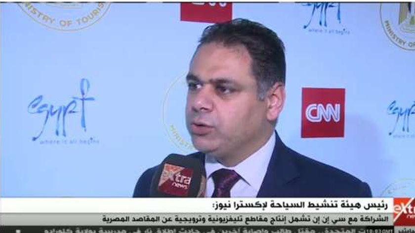 المهندس أحمد يوسف رئيس هيئة تنشيط السياحة