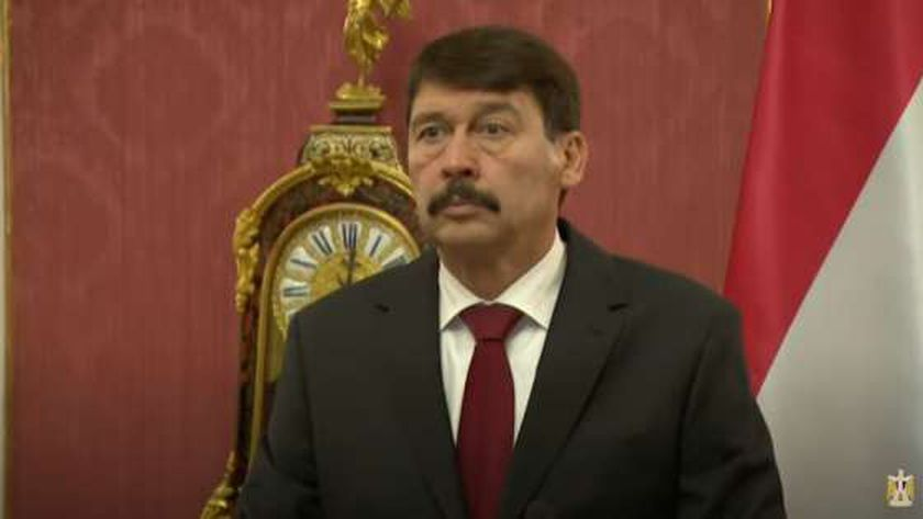 الرئيس المجري يانوش أدير