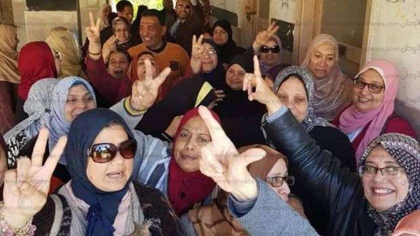 """""""تضامن الإسكندرية""""تنظم تحركات جماعية من المديرية للمشاركة في الاستفتاء"""
