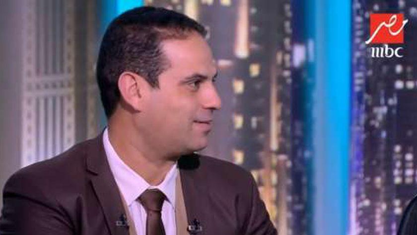 محمد يوسف مسئول التدخل السريع بوزارة التضامن الاجتماعى