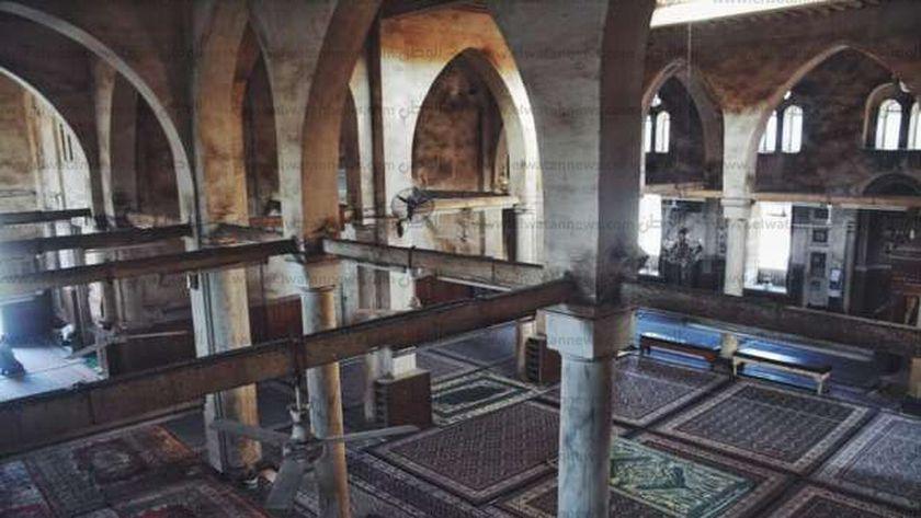 مسجد ابو غنام الآثرى فى كفر الشيخ