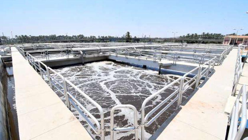 محطة معالجة الصرف