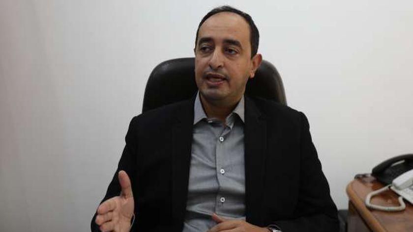 عمرو عثمان مساعد وزيرة التضامن الاجتماعى