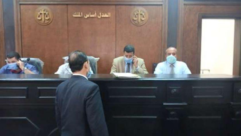 لجنة تلقي طلبات الترشح لمجلس الشيوخ ببنها