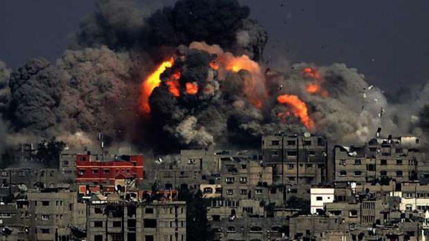 آخر أخبار ومشاهد قصف غزة اليوم