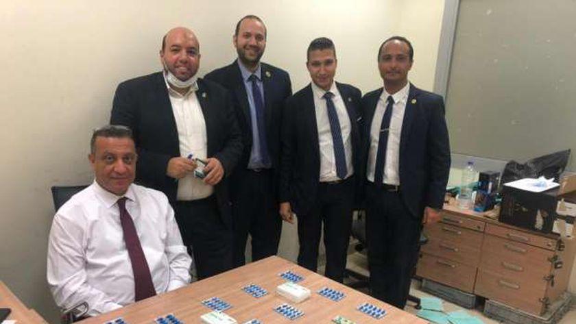 جمارك مطار القاهرة الدولي تضبط تهريب عدد من الأقراص المخدرة بصحبة راكب مصري قادم من لبنان