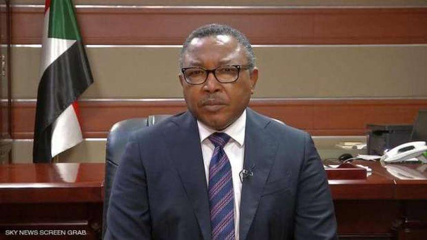 وزير الخارجية السودانى عمر قمر الدين