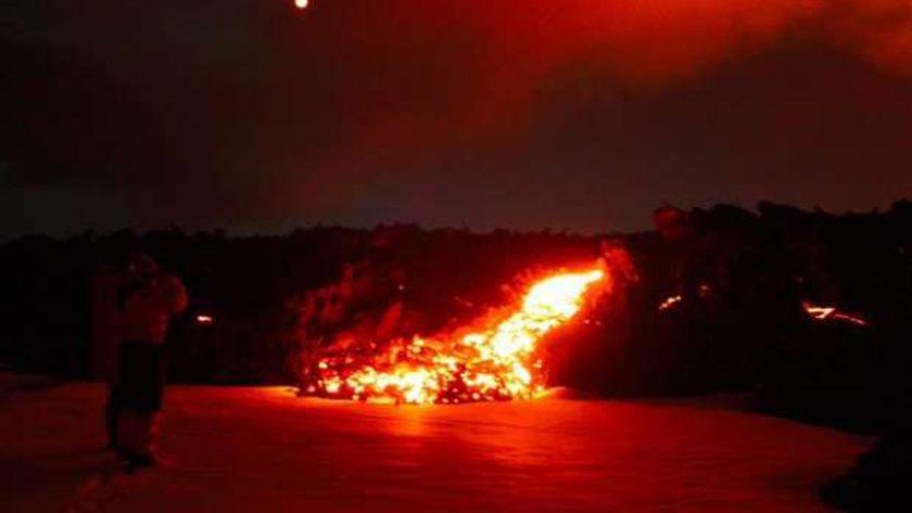 صورة مسؤولون إسبان: حمم بركان «لا بالما» بطيئة ولم تصل مياه المحيط الأطلسي – العرب والعالم