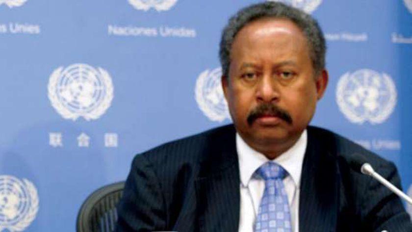 رئيس الحكومة السودانية عبد الله حمدوك