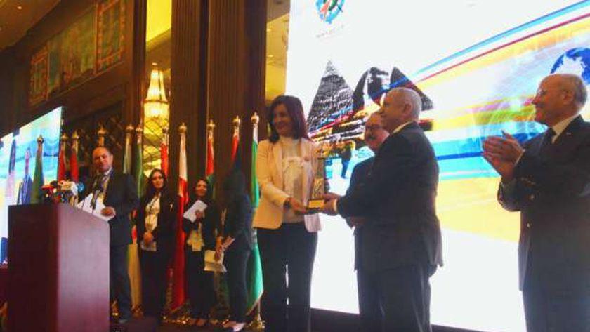 وزيرة الهجرة في المؤتمر الدولي العاشر لتكنولوجيا الخرائط المحمولة