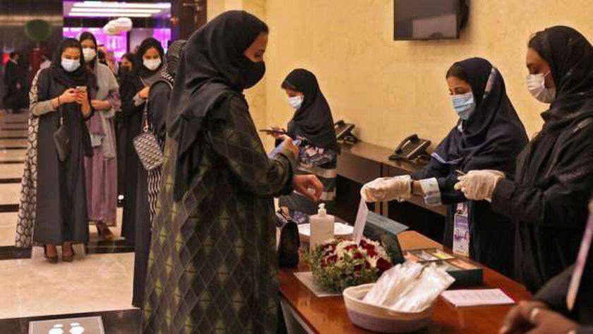 أحد مراكز التطعيم ضد كورونا في المغرب