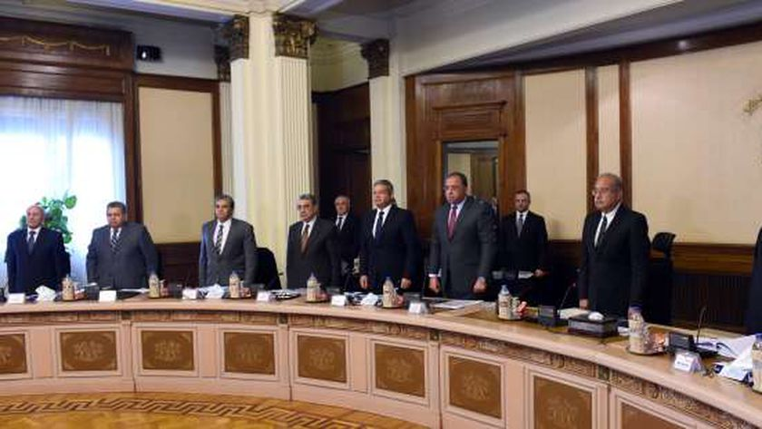 جانب من اجتماع مجلس الوزراء «صورة أرشيفية»