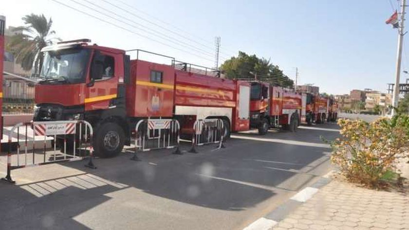 سيارات إطفاء