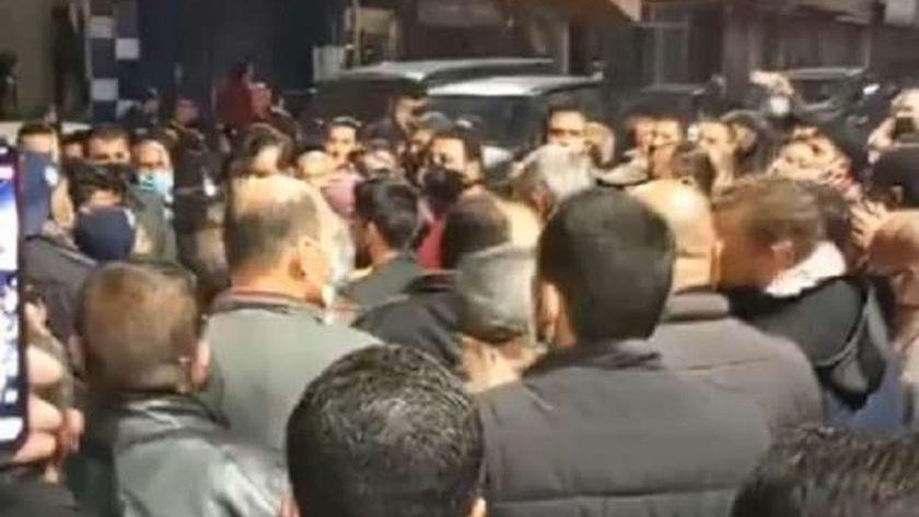 جانب من المظاهرات الليلية في الاردن