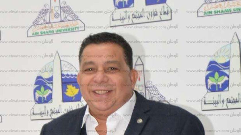 سمير عبدالناصر ...امين عام جامعة عين شمس