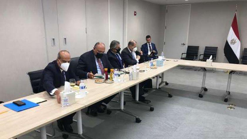 صورة نشاط مكثف لوزير الخارجية على هامش اجتماعات الأمم المتحدة (صور وفيديو) – العرب والعالم