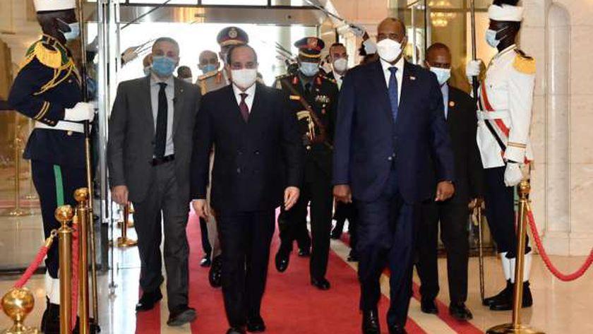 زيارة الرئيس السيسى للسودان