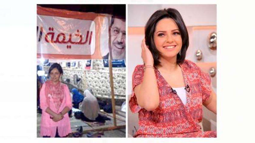 الإعلامية داليا أشرف مذيعة DMC