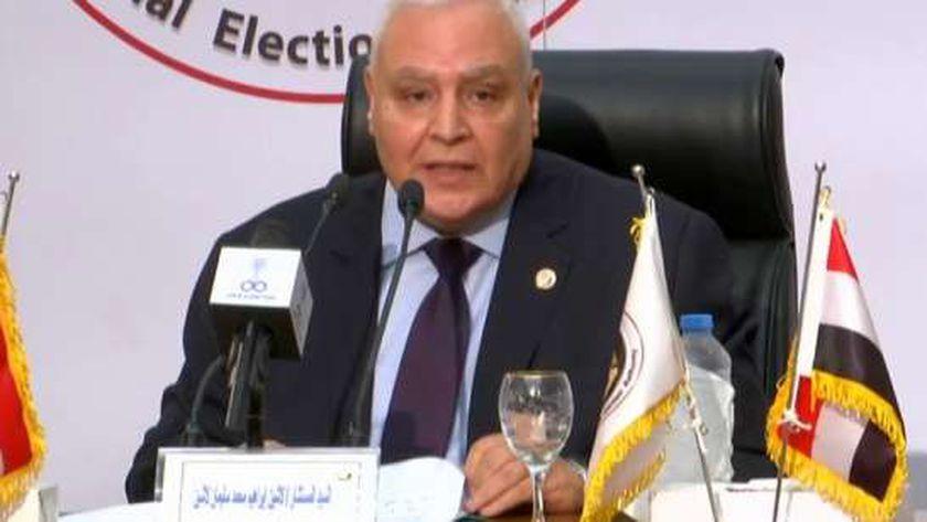 المستشار لاشين إبراهيم، رئيس الهيئة الوطنية للانتخابات
