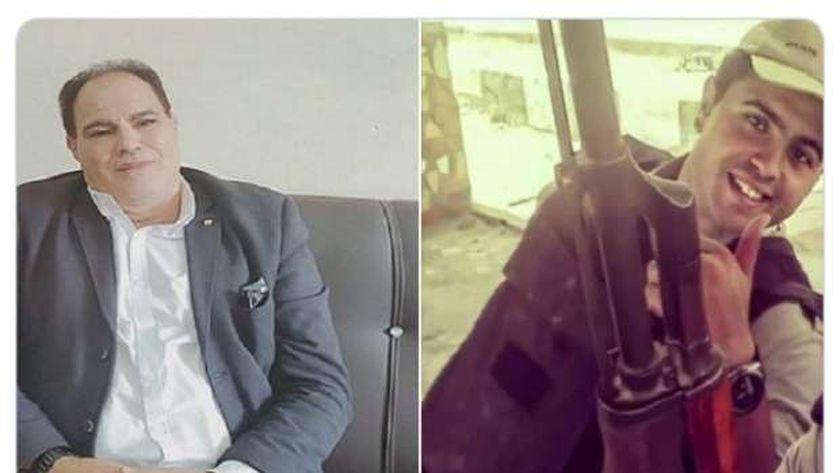 والد الشهيد عمر ياسر: عاش بطل ومات شهيد.. وتكريم الرئيس وسام على صدورنا