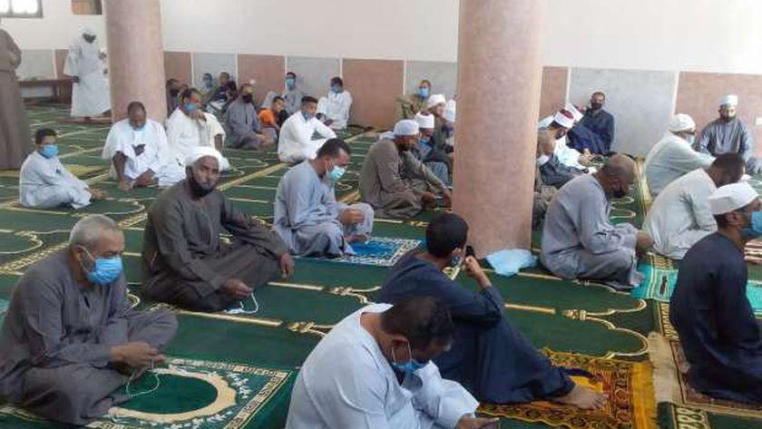 مسجد جديد عقب افتتاحه