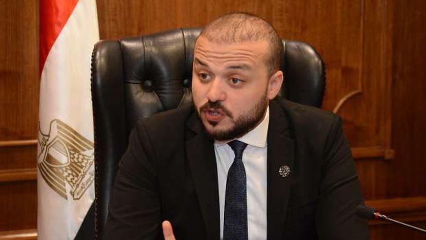 محمد الجارحي أمين شباب الجمهورية بحزب مستقبل وطن