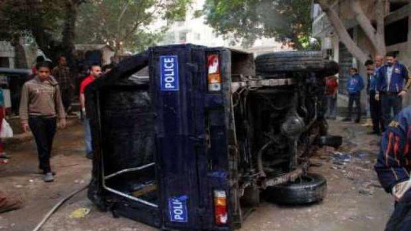 """ننشر أسماء المصابين في حادث تصادم """"بوكس"""" شرطة بالفيوم"""