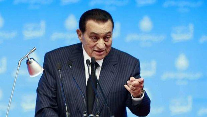 الرئيس الأسبق مبارك