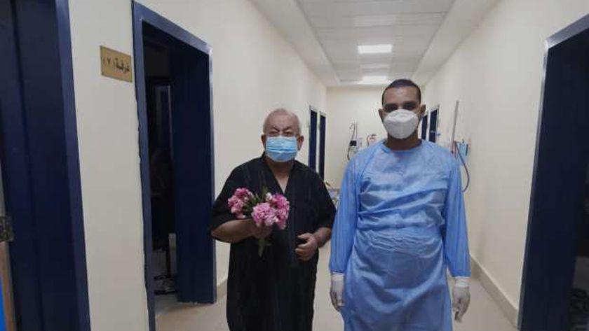 خروج ٢٢٢ مصابا بمستشفيات العزل والعزل المنزلي خلال ايام عيد الفطر بسوهاج