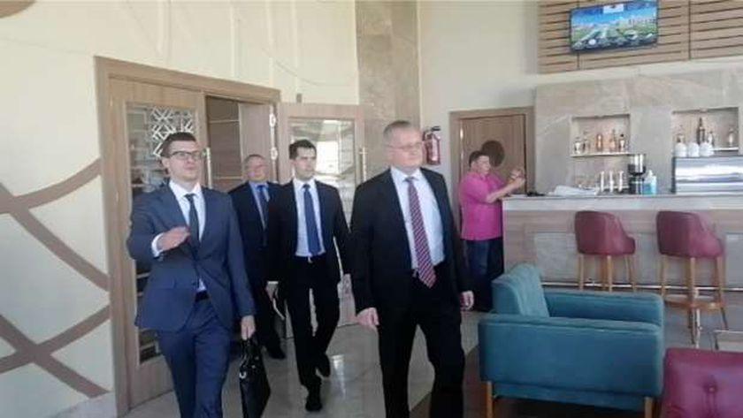 زيارة السفير الروسي للغردقة