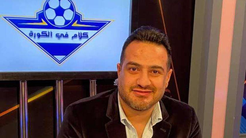 الإعلامي أحمد سعيد