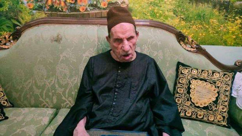 الشيخ محمود البدري فاقد البصر