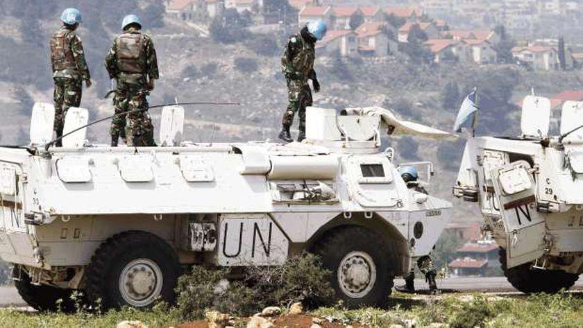 عناصر من قوات اليونيفيل