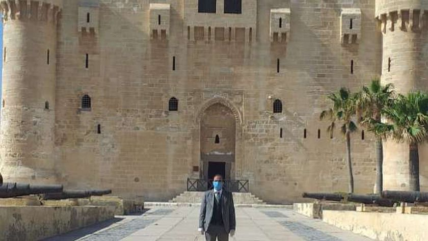 مدير آثار الإسكندرية