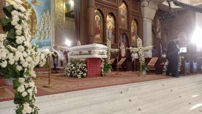 جنازة الأنبا هدرا