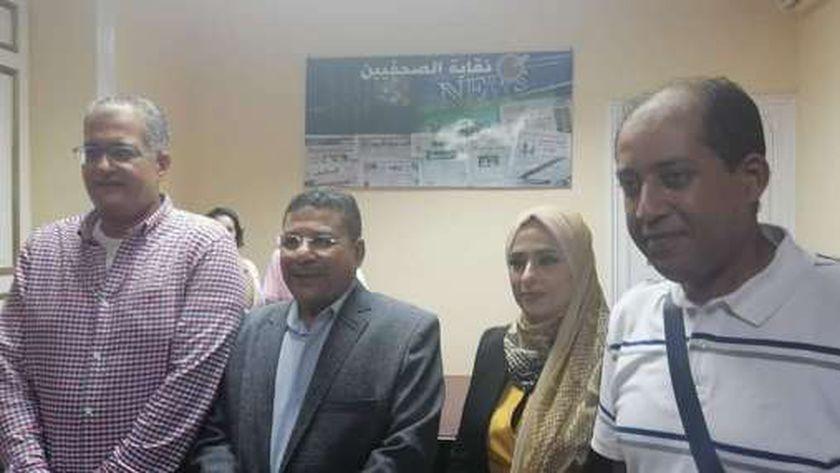 النقيب والثلاثة أعضاء الجدد في الإسكندرية