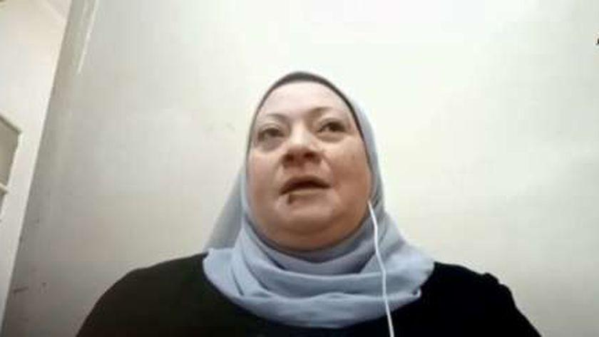 الدكتورة منال صبرة أستاذ البيولوجي البحرية بالمعهد القومي لعلوم البحار والمصايد